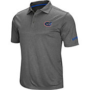 Colosseum Men's Florida Gators Grey Cut Shot Polo