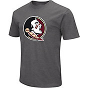 Colosseum Men's Florida State Seminoles Grey Dual Blend T-Shirt