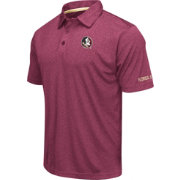 Colosseum Men's Florida State Seminoles Garnet Axis Polo