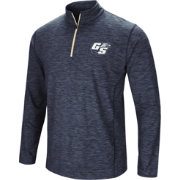 Colosseum Athletics Men's Georgia Southern Eagles Navy Action Pass Quarter-Zip Shirt