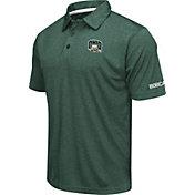 Colosseum Men's Ohio Bobcats Green Axis Polo