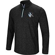 Colosseum Athletics Men's Johns Hopkins Blue Jays Action Pass Quarter-Zip Black Shirt