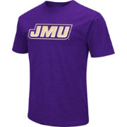 Colosseum Men's James Madison Dukes Purple Dual Blend T-Shirt