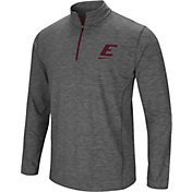 Colosseum Men's Eastern Kentucky Colonels Grey Action Pass Quarter-Zip Shirt