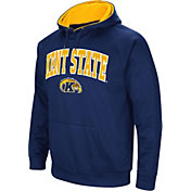 Colosseum Men's Kent State Golden Flashes Navy Blue Fleece Hoodie