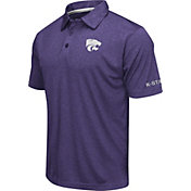 Colosseum Men's Kansas State Wildcats Purple Axis Polo