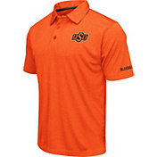Colosseum Men's Oklahoma State Cowboys Orange Axis Polo