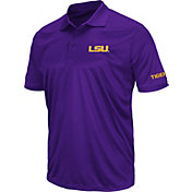 Colosseum Men's LSU Tigers Purple Stance Polo