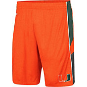 Colosseum Men's Miami Hurricanes Orange Triple A Shorts