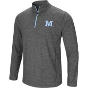 Colosseum Men's Maine Black Bears Grey Action Pass Quarter-Zip Shirt