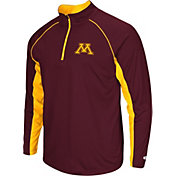 Colosseum Men's Minnesota Golden Gophers Maroon Airstream Quarter-Zip