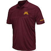 Colosseum Men's Minnesota Golden Gophers Maroon Stance Polo