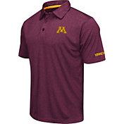 Colosseum Men's Minnesota Golden Gophers Maroon Axis Polo