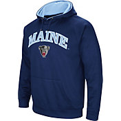 Colosseum Men's Maine Black Bears Blue Fleece Hoodie