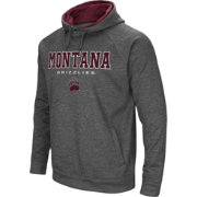 Colosseum Men's Montana Grizzlies Grey Fleece Hoodie
