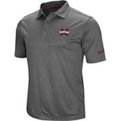 Colosseum Men's Mississippi State Bulldogs Grey Cut Shot Polo