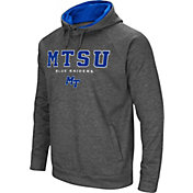 Colosseum Men's Middle Tennessee State Blue Raiders Grey Fleece Hoodie