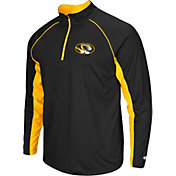 Colosseum Men's Missouri Tigers Black Airstream Quarter-Zip