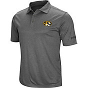 Colosseum Men's Missouri Tigers Grey Cut Shot Polo