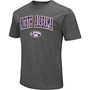 Colosseum Men's North Alabama Lions Grey Dual Blend T-Shirt