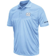 Colosseum Men's North Carolina Tar Heels Carolina Blue Stance Polo