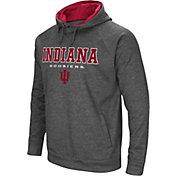Colosseum Men's Indiana Hoosiers Grey Fleece Hoodie