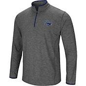 Colosseum Men's Nevada Wolf Pack Grey Action Pass Quarter-Zip Shirt