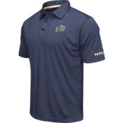 Colosseum Men's Navy Midshipmen Navy Axis Polo