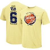 Colosseum Men's Pitt Panthers Oakland Zoo Gold Dual Blend T-Shirt