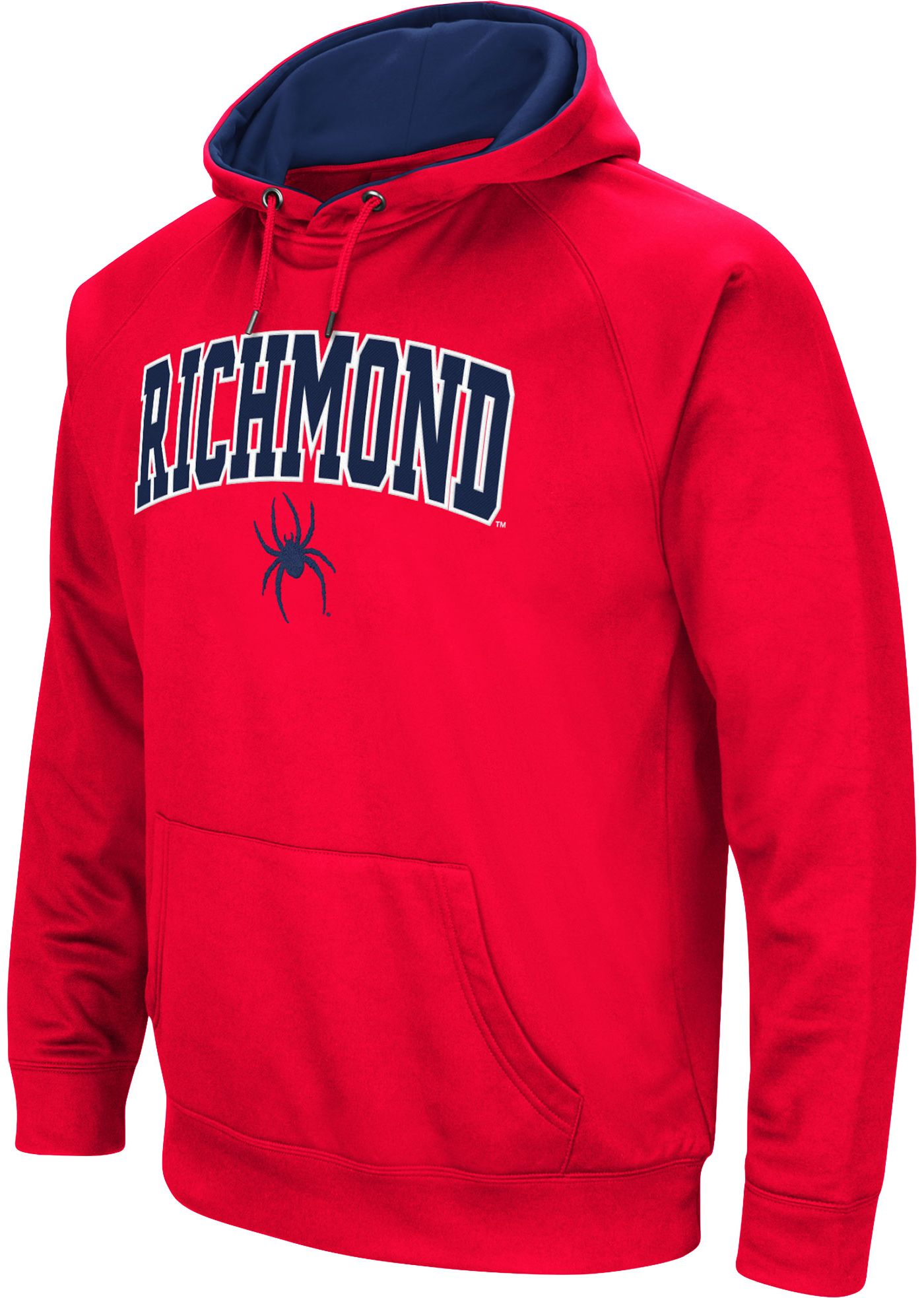 Colosseum Men's Richmond Spiders Red Performance Hoodie