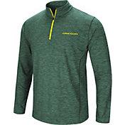 Colosseum Men's Oregon Ducks Green Action Pass Quarter-Zip Shirt