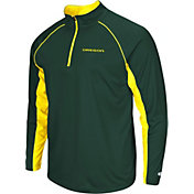 Colosseum Men's Oregon Ducks Green Airstream Quarter-Zip