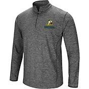 Colosseum Men's Oregon Ducks Grey Action Pass Quarter-Zip Shirt