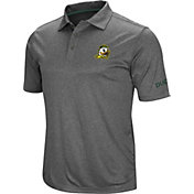 Colosseum Men's Oregon Ducks Grey Cut Shot Polo
