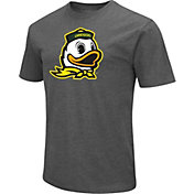 Colosseum Men's Oregon Ducks Grey Dual Blend T-Shirt