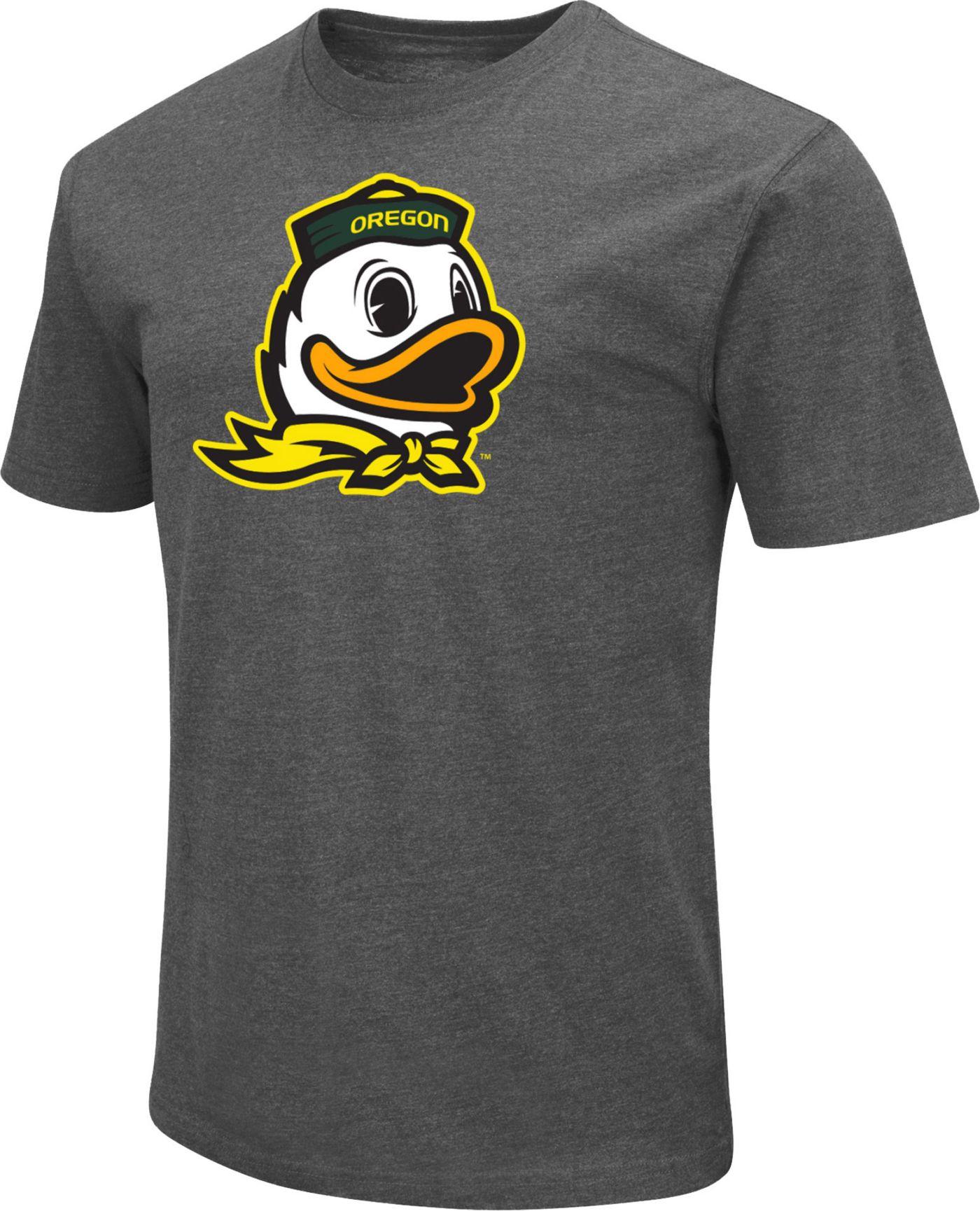 Colosseum Men's Oregon Ducks Grey Dual Blend T-Shirt
