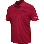Colosseum Men's Arkansas Razorbacks Cardinal Stance Polo