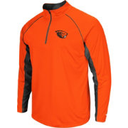 Colosseum Men's Oregon State Beavers Orange Airstream Quarter-Zip