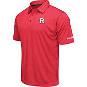 Colosseum Men's Rutgers Scarlet Knights Scarlet Axis Polo