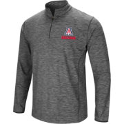 Colosseum Men's Arizona Wildcats Grey Action Pass Quarter-Zip Shirt