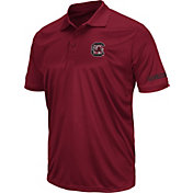 Colosseum Men's South Carolina Gamecocks Garnet Stance Polo