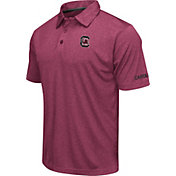 Colosseum Men's South Carolina Gamecocks Garnet Axis Polo