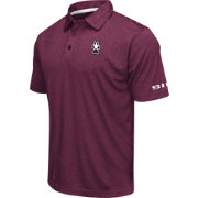 Colosseum Men's Southern Illinois  Salukis Maroon Axis Polo