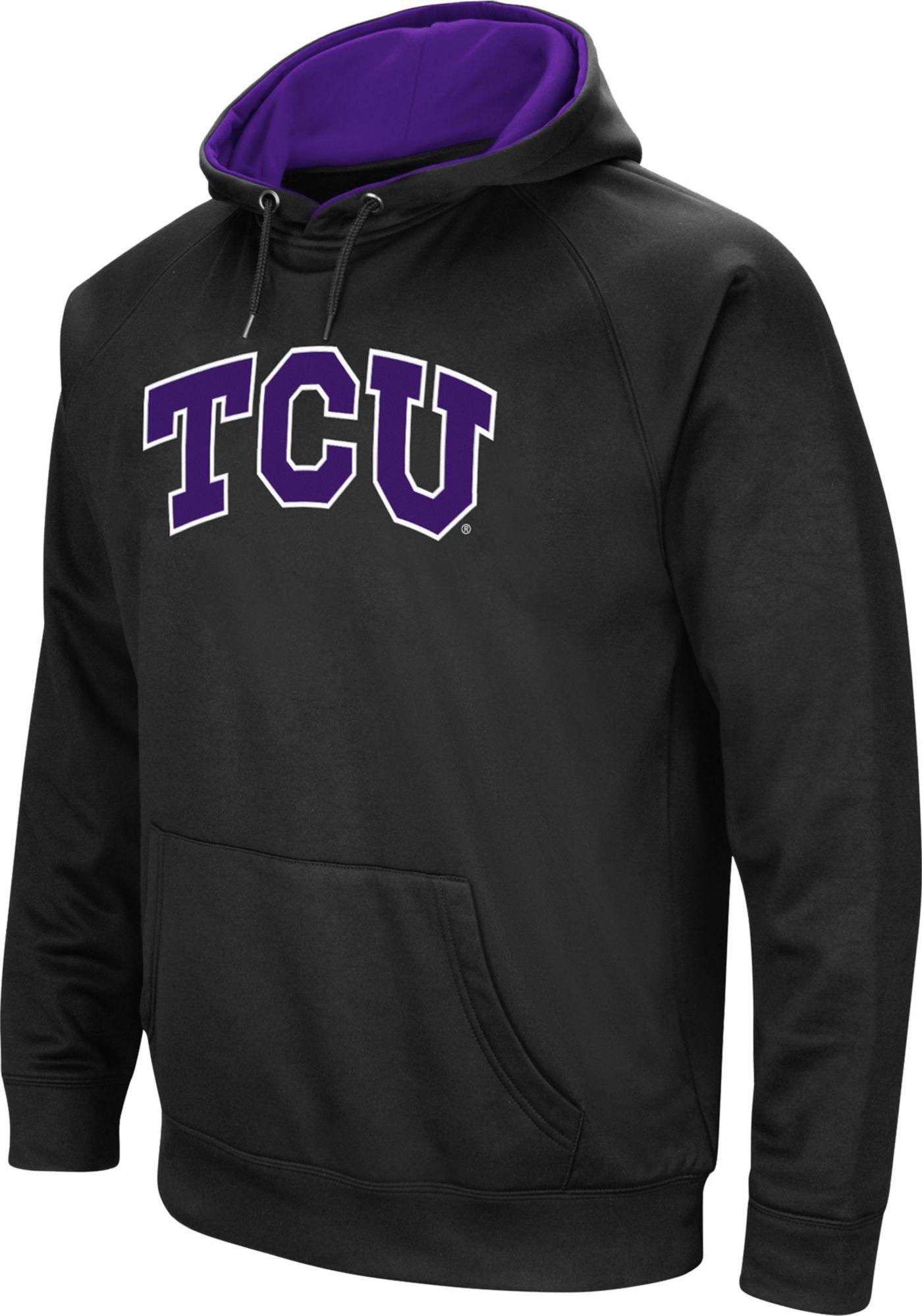 Colosseum Men's TCU Horned Frogs Black Performance Hoodie