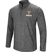 Colosseum Men's Tennessee Volunteers Gray Action Pass Quarter-Zip Shirt