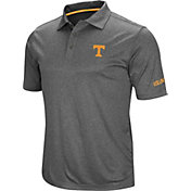 Colosseum Men's Tennessee Volunteers Grey Cut Shot Polo