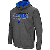 Colosseum Men's Texas A&M -Corpus Christi Islanders Grey Fleece Hoodie