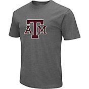 Colosseum Men's Texas A&M Aggies Grey Dual Blend T-Shirt