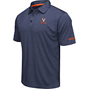 Colosseum Men's Virginia Cavaliers Blue Axis Polo