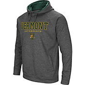 Colosseum Men's Vermont Catamounts Grey Fleece Hoodie